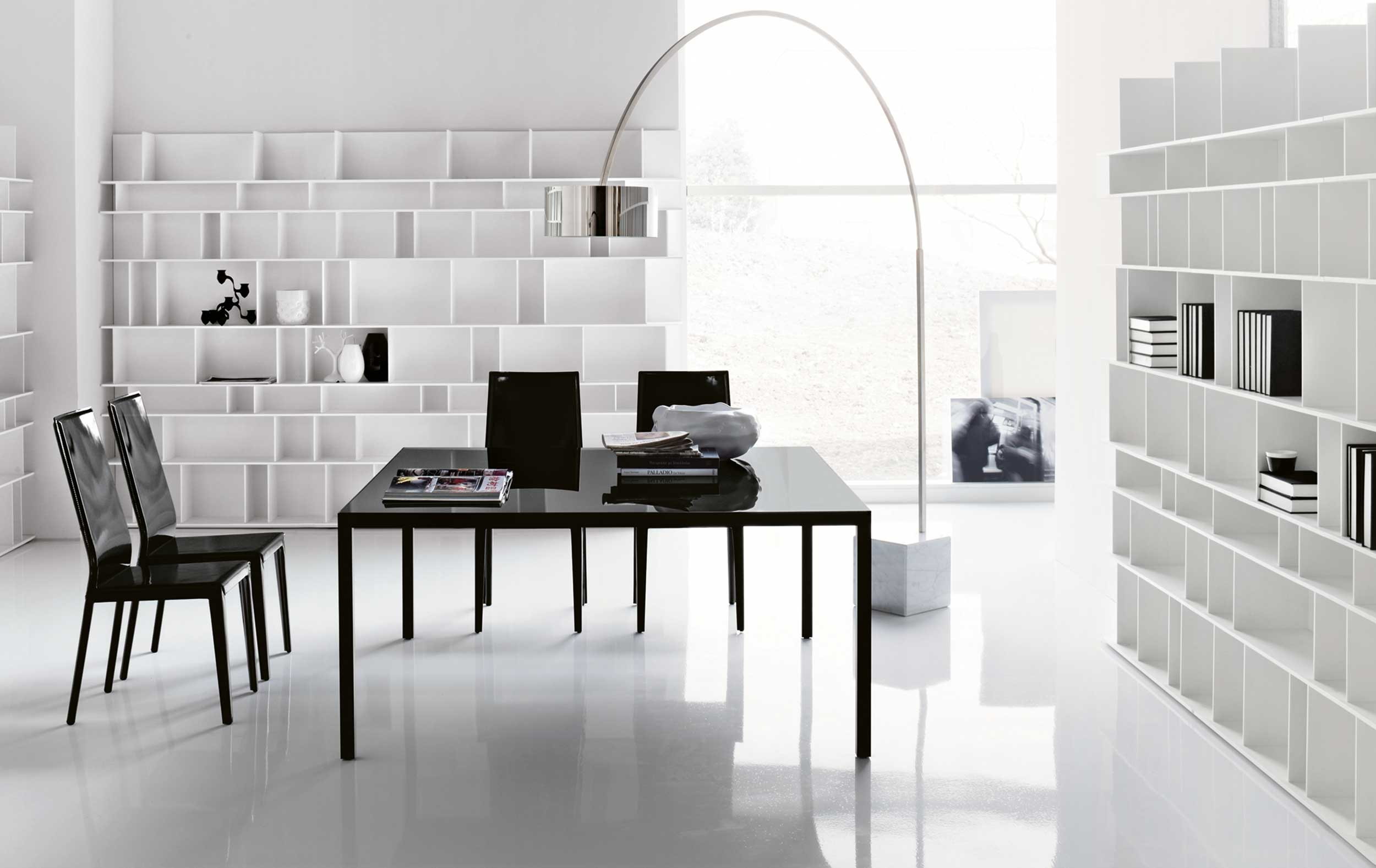 Modern Contemporary Tech Office Desk by Cattelan Italia