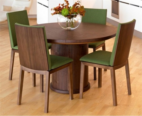 Blog Archive Contemporary Expandable Round Dining Table Design