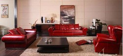Italy red home furniture HD-232
