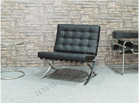 Modern Home Furniture Barcelona Chair - leather2