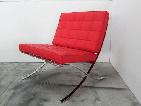 Modern Home Furniture Barcelona Chair - leather3