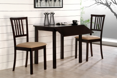 Jackson 3pc Dining Set Cappuccino
