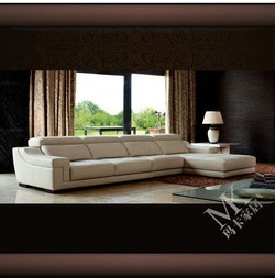MAKA living room leather modern furniture HD-193