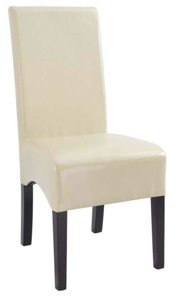 Henredon Leather Back Dining Chair