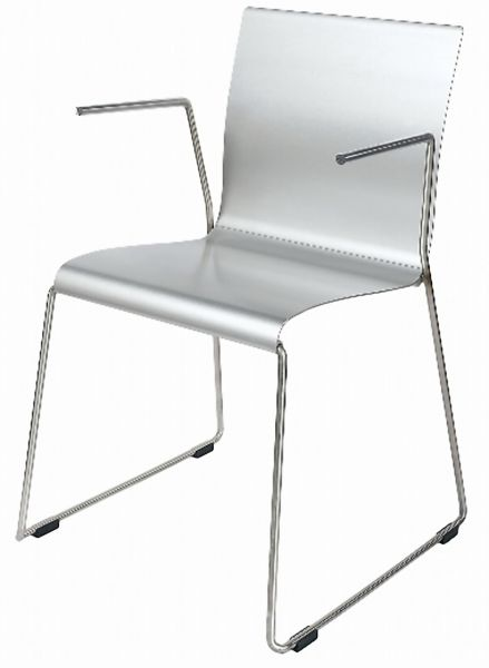Hard PVC Arm Chair