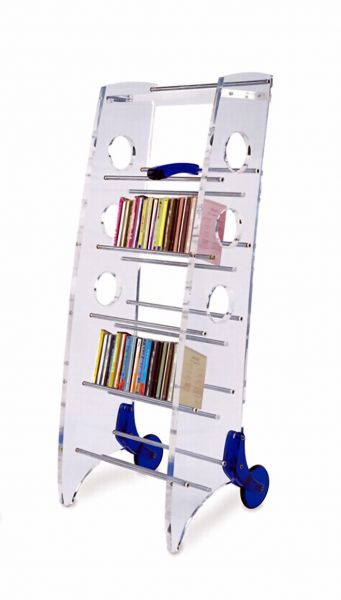 Glass Book Shelf