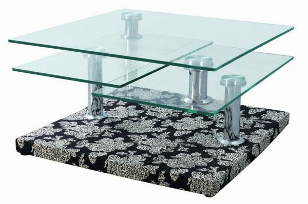 Glass Center Coffee Tables