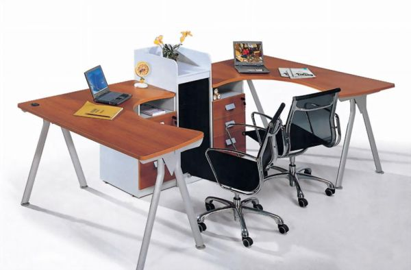 Shaped Office Desk