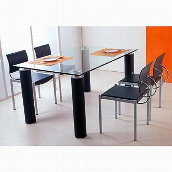Metal And Glass Dining Table Metal And Glass Dining Room Tables Dining
