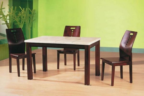 Dining table glass dining tables cheap for Cheap round wooden dining tables