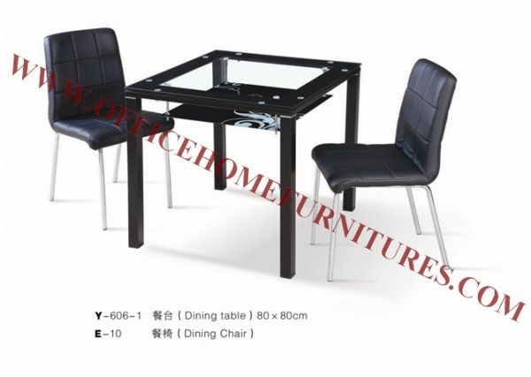 Glass Quadrate Table