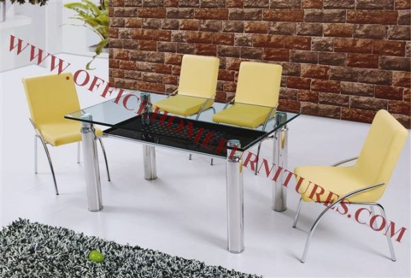 Modern Glass Dinner Room Furniture
