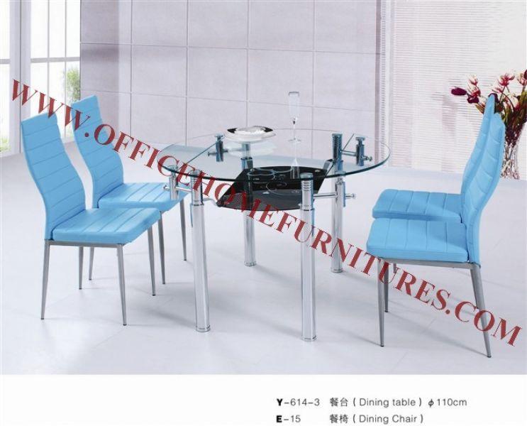 Glass Dinner Room Set